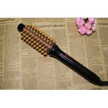 Peigne de fer à friser électriques redressage brosse à cheveux
