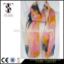 eco-friendly dye mori girl style fashionable all-match beautiful acrylic scarf anti-pilling