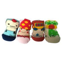2016 nuevo 3D infantil lindos botines hechas de algodón