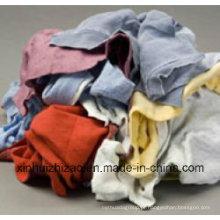 Usado algodão colorido Wiping Rags