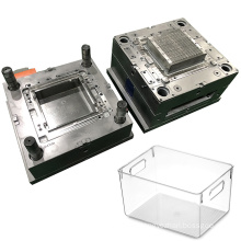 manufacture customized service household thin wall mold precision injection plastic storage box mould
