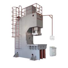 Presse hydraulique à colonne unique de type C avec gorge profonde