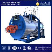 Capacité de 1 à 20 tonnes SZL DZL WNS gazole charbon charbon biomasse combustible chaudière à vapeur Chine