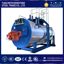 1 to 20 ton capacity SZL DZL WNS gas oil coal biomass fuel steam boiler China