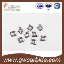 Insertos CNC de metal duro indexáveis para alumínio