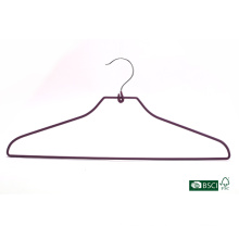 Suspensión de la ropa de Eisho fuerte fuente de la fábrica PVC Metal Hanger
