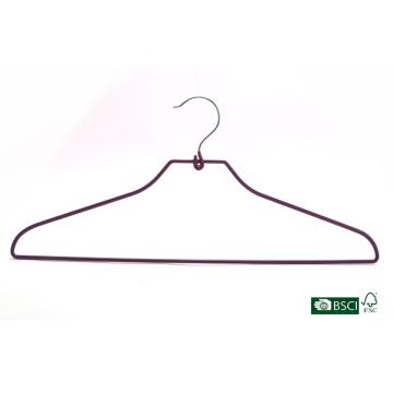 Eisho Garment Hanger Strong Factory Supply PVC Metal Hanger