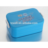 Fashion box with divider,plastic lunch box,food container