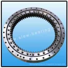 Rodamiento giratorio de doble hilera con con engranaje interno para giradiscos