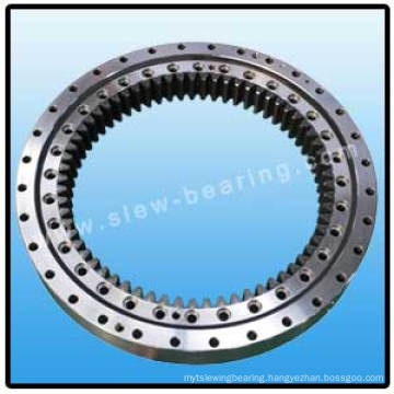 Double row ball slewing bearing with with Internal gear for turntable