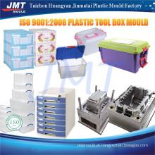 alta qualidade made in china precisão plástico mais nítidas caixa do molde