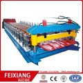 FIRE PROOF SANDWICH ROLLER SHUTTER SLAT ROLL FORMING MACHINE