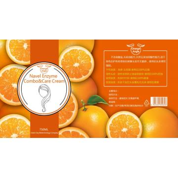 Shampooing au parfum d'orange
