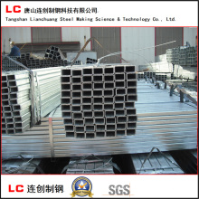 60X40mm Carbon Steel Hot Dipped Galvanized Rectangular Pipe