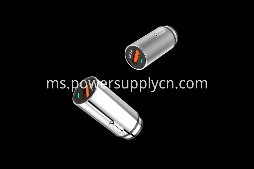 Qc3 0 Single Usb Car Charger 18w