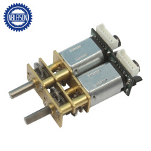 12mm Electric Micro Metal Gear Motor with Dual Shaft