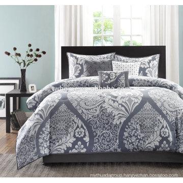 Madison Park Vienna Comforter Duvet Cover Printed Grey Bedding Set
