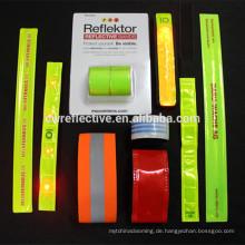 Glow in the Dark Armband / Glow in the Dark Gummiband Armbänder / Leuchten in der Dunkelheit Silikon-Armbänder