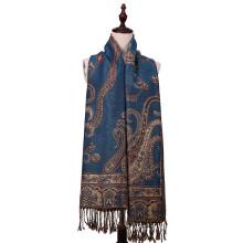 Écharpe en hiver à motifs floraux avec une grande taille de 196 * 90cm