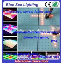 Billige Disco leuchtet weiße LED verwendete Tanzfläche zum Verkauf