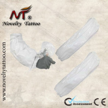 N201049 White Plastic Disposable Tattoo Sleeve