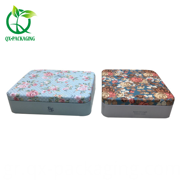 Custom Printed Tea Tin Box