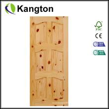 Puerta de entrada de madera maciza Puertas de madera originales (puerta de madera maciza)