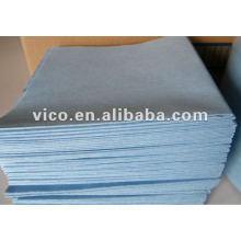 Tissu de nettoyage en tissu non tissé / microfibre Spunlace