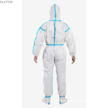 Disposable Breathable Safety SF Coverall with Hood in FDA,CE,ISO13485