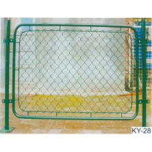 pasokan pabrik Galvanis / PVC Coated chain link fence
