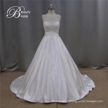 Гуанчжоу Alibaba Трапеция Свадебные платья бисером