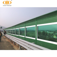 PC acrylic sheet transparent noise barrier , micropore inflatable outdoor noise barriers wall for highway