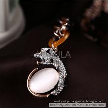 Ouro de opala VAGULA chapeamento colar (Hln16340)