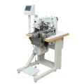 Автоматическая машина для подшивки эластичного материала челночного стежка