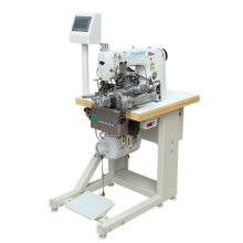 Automatisk Lockstitch Elastic Material Bottom Hemming Machine