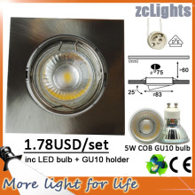COB LED Down Light avec 5W GU10 Spotlight