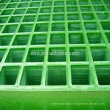 Grades pultrudadas em fibra de vidro com grades de FRP