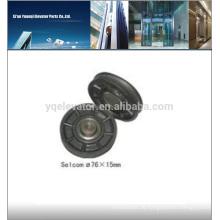 Selcom Aufzugsrad 76X15 Aufzugsrollenrolle
