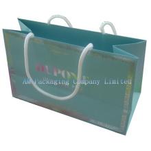 Dongguan Factory Custom Made Full Color Printed Paper Hand Bag