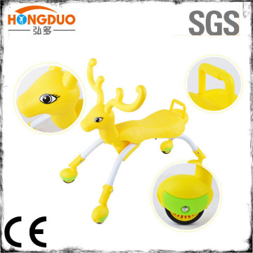 Fold able Indoor/Outdoor scuttle bug Glide Tricycle