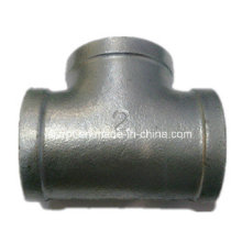 "2"" Equal Banded Galvanized Tee Malleable Iron Pipe Fittings"