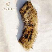 Luxury women clothing Warm fur collar and cuff coat