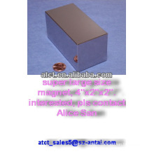 Powerful n52 neodymium magnet large size 101.6X50.8X50.8MM