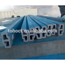 RBSIC/ SISIC/ SSIC ceramic Special shape/ all kinds shapes silicon carbide ceramic pipes tubes beam