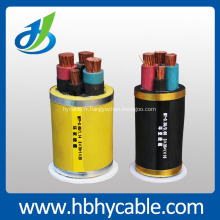 Câble électrique isolé par professionnel de XLPE pour l'exploitation minière