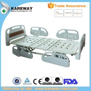 ABS bed board electrical home care bed with PP side rails