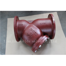 Wcb Y Type Strainer con pantalla Ss304