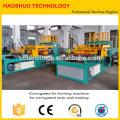 Wellrippenformmaschine für den Einsatz in Transformatoren