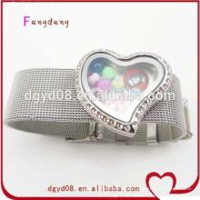 2015 Mode Armband mit Crystal Floating Medaillon Großhandel