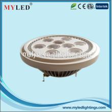 2015 o mais popular alta luminos LED AR111 lâmpada 12W G53 base AR111 luzes LED